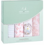 aden + anais Classic Swaddles 4-Pack - Bird Song