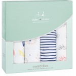 aden + anais Classic Swaddles 4-Pack - Leader of the Pack
