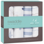 aden + anais Classic Swaddles 4-Pack - Rock Star