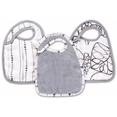 aden + anais Silky Soft Snap Bibs Moonlight 3 Pack