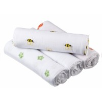 aden + anais Swaddle Plus 4 Pack - Life's A Hoot