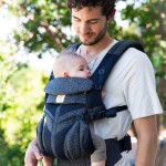 Ergobaby All-In-One OMNI 360 Baby Carrier - Cool Air Mesh - Blue Tweed