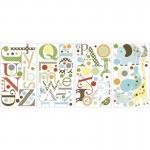 RoomMates Animal Alphabet Wall Decals - RMK1440SCS