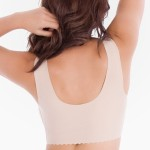Belly Bandit Anti Bra (V-Neck) with Removable Pads - Nude