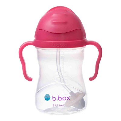 b.box Sippy Cup - Raspberry (New Version)