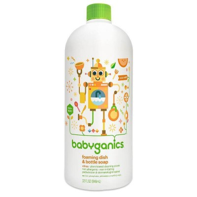 Baby Ganics Dish & Bottle Soap Citrus - 946ml Refill
