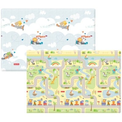 Fisher Price Baby Play Mat - Smile Road + Flying (130x190cm)