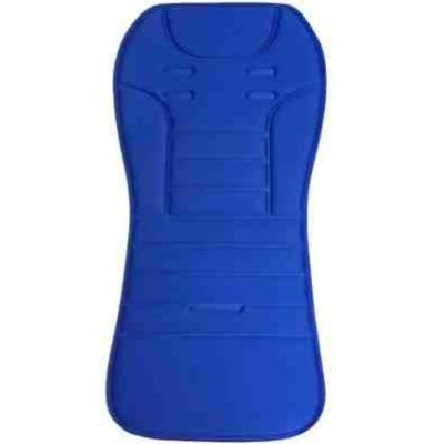 Baby Star Light-Weight Reversible Stroller Seat Pad - Blue