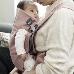 BabyBjorn Baby Carrier MINI, Cotton - Old Rose / Dusty Pink