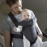 BabyBjorn Baby Carrier MINI, 3D Jersey - Dark Grey