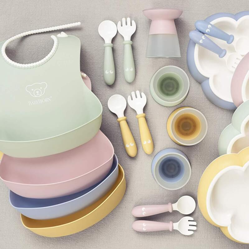 2611ce7cf27 BabyBjorn Baby Dinner Set - Powder Green