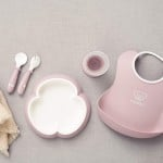 BabyBjorn Baby Dinner Set - Powder Pink