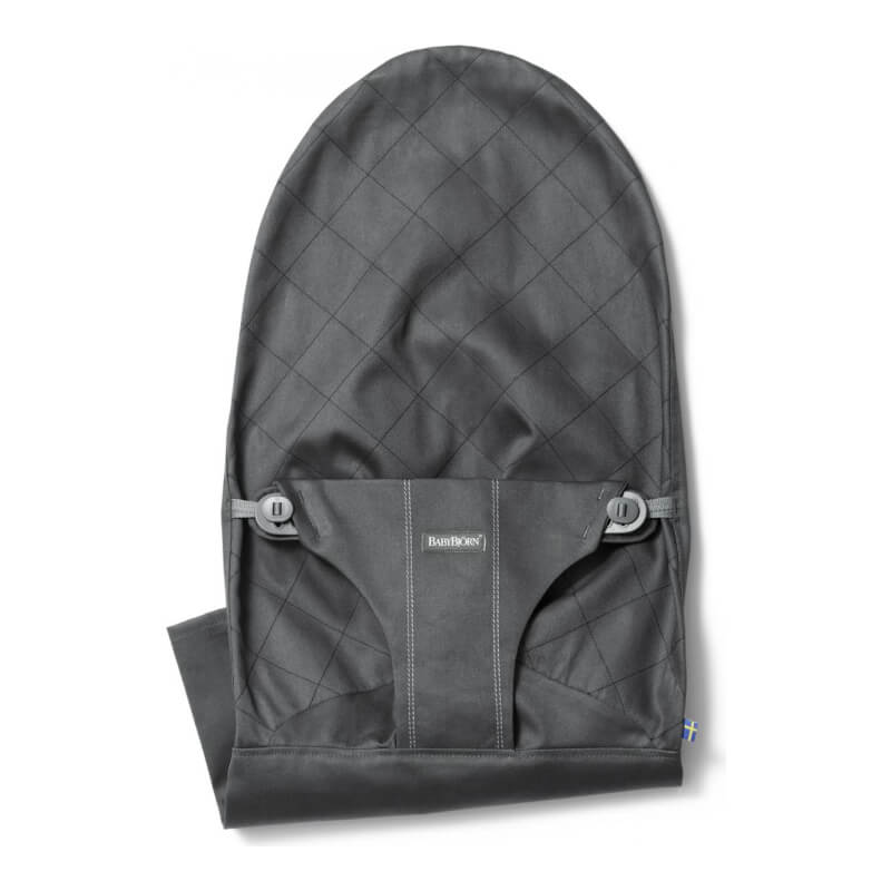 5ea6c1a13754 BabyBjorn Fabric Seat for Bouncer Bliss - Anthracite
