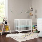 Babyletto Gelato 2-in-1 Mini Crib - White / Washed Natural