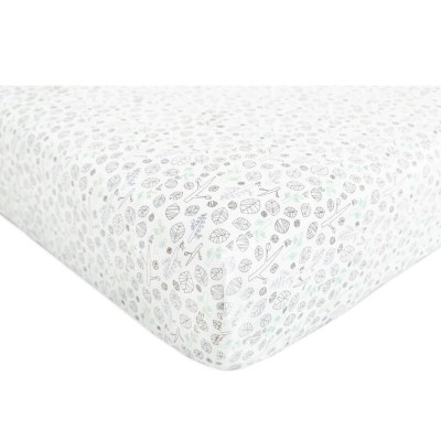 Babyletto Mini Crib Fitted Sheet - Tranquil Woods (95x60cm)