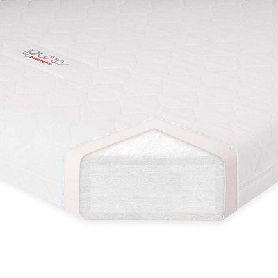 Babyletto Pure Core Non-Toxic Crib Mattress with Hybrid Waterproof Cover (132 x 71 x 15 cm)