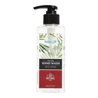 BacOff Natural Hand Wash 300ml