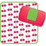 b.box Diaper Wallet - Cherry Delight