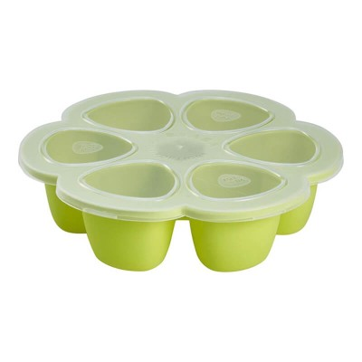 Beaba Silicone multiportions 6 x 90 ml NEON