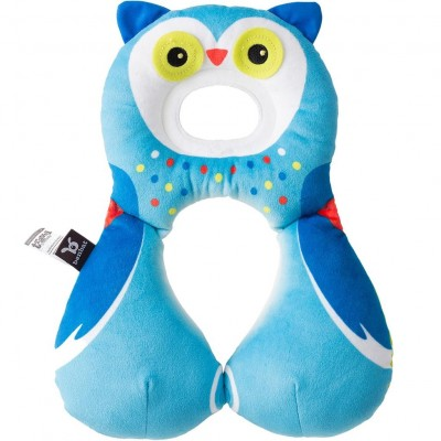 BenBat Travel Friends Headrest - 1-4 yrs - Owl