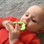 Bioserie Star Teether - Green