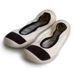 Collegien Black & White Socks Slipper