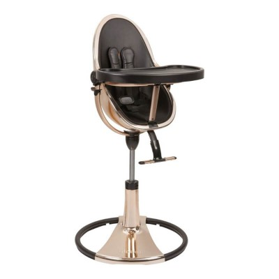 Bloom Fresco Chrome Contemporary Baby Chair - ROSE GOLD (seat pad not included)