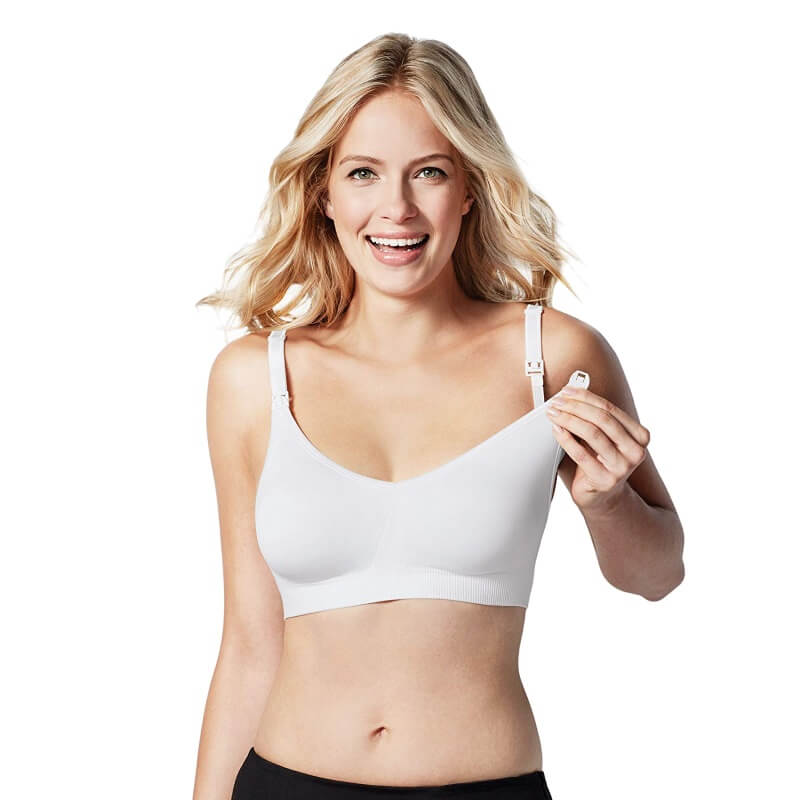 2daa5e03acd1d Bravado Body Silk Seamless Nursing Bra - White