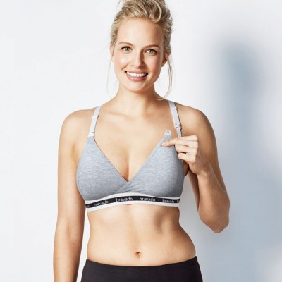 Bravado Original Nursing Bra - Dove Heather
