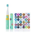 Brushbaby Go-Kidz Electric Travel Toothbrush - Teal