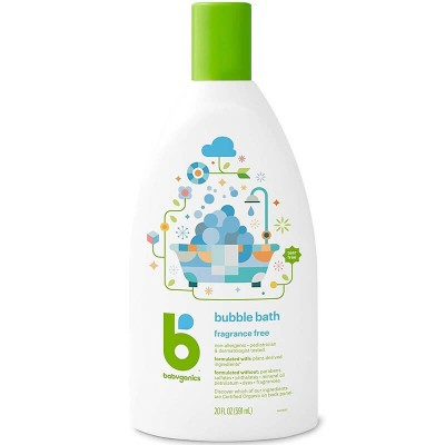 Baby Ganics Bubble Bath Fragrance Free 591ml