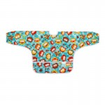Bumkins Long Sleeved Art Smock - Blue Owl