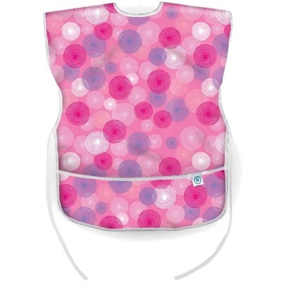 Bumkins Short Sleeved Art Smock - Ball Pink