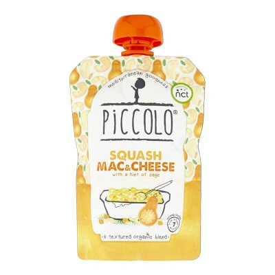 Piccolo Butternut Squash Mac & Cheese with a Hint of Sage 130g (7mos+)