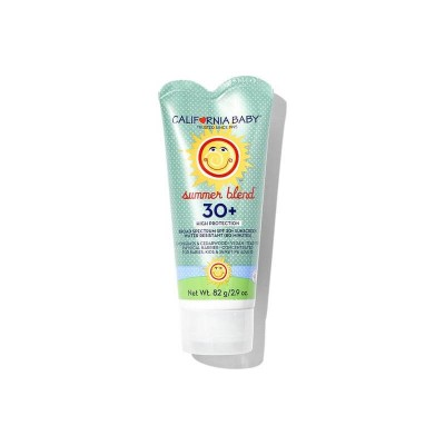 California Baby Summer Blend Broad Spectrum SPF30+ Sunscreen SPF30+ 82 g/2.9oz