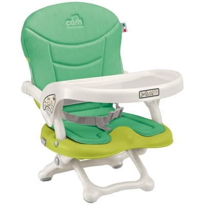 Cam Smarty Booster Seat - Green