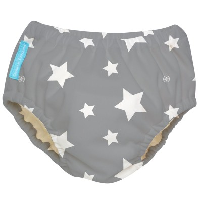 Charlie Banana 2-in-1 Swim Diaper & Training Pants - Twinkle Little Star White