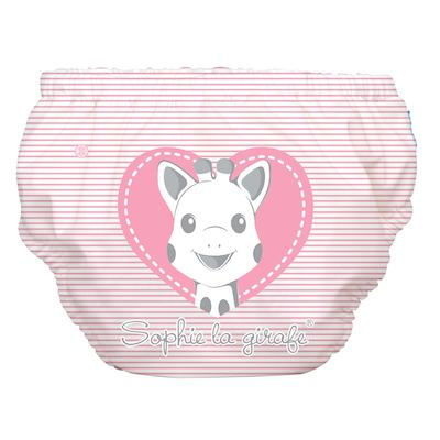 Charlie Banana 2-in-1 Swim Diaper & Training Pants - Sophie Pencil Pink Heart