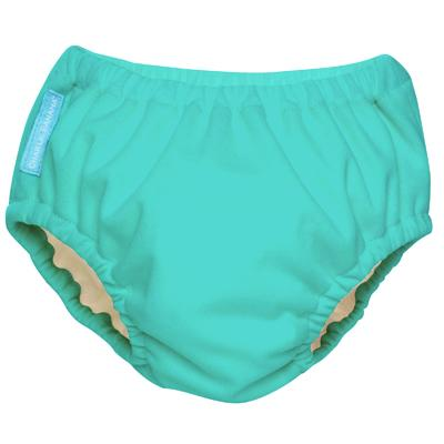 Charlie Banana 2-in-1 Swim Diaper & Training Pants - Fluorescent Turquoise