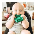 Itzy Ritzy Chew Crew Silicone Baby Teether - Latte