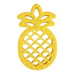 Itzy Ritzy Chew Crew Silicone Baby Teether - Pineapple