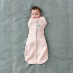 ergoPouch Cocoon Swaddle Sleep Bag - Spring Leaves - 1.0 Tog - 2-6m