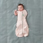 ergoPouch Cocoon Swaddle Bag 1.0 Tog - Spring Leaves - 3-12m