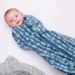 ergoPouch Cocoon Swaddle Bag 2.5 Tog - Midnight Arrows - 3-12m