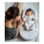 Red Castle Cocoonababy Nest with Fitted Sheet - (0-4 mos) - Jersey, Dream (Clouds)