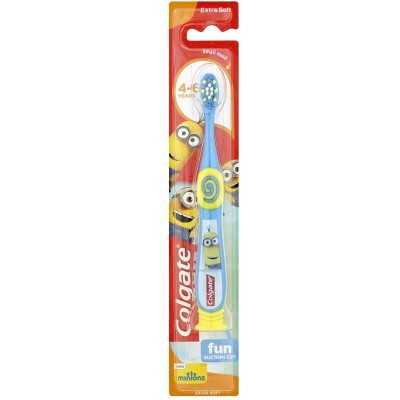 Colgate Minions 4-6 Years Extra Soft Toothbrush - Blue