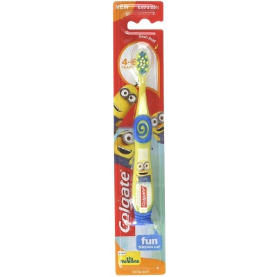 Colgate Minions 4-6 Years Extra Soft Toothbrush - Yellow