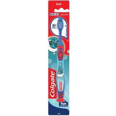 Colgate Smiles Junior 6+ Years Soft Toothbrush - Blue