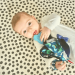 Cheeky Chompers Comfortchew Baby Comforter with Teether - Baby Dino