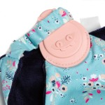 Cheeky Chompers Comfortchew Baby Comforter with Teether - Botanical Bloom